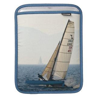 Racing Sailboat iPad Sleeve