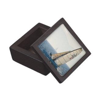 Racing Sailboat Premium Gift Box