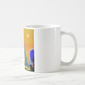 Racing Sailboats Coffee Mug