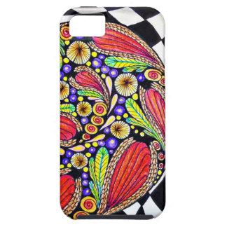 """Racing Snail"" iPhone 5/5s Case-Mate Tough iPhone SE/5/5s Case"