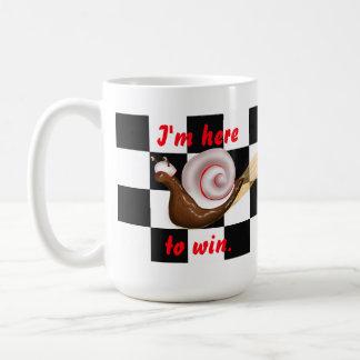 Racing Snail Mug