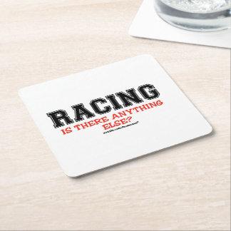 Racing Square Paper Coaster