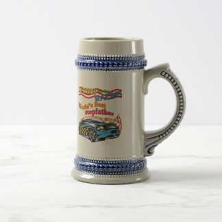 Racing Stepfather Father's Day Gifts 18 Oz Beer Stein