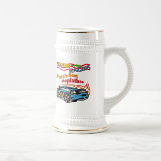 Racing Stepfather Father's Day Gifts Beer Stein