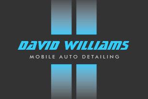 Auto detailing business cards templates zazzle racing stripes bluegray auto detailing repair business card colourmoves