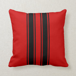 Racing Stripes Pillow
