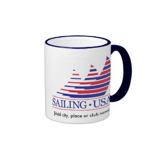 Racing Stripes_Sailing USA Namedrop mug