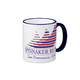 Racing Stripes _Spinnaker Run_San Francisco Coffee Mugs