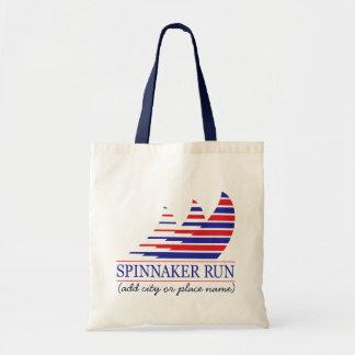 Racing Stripes_Spinnaker Run Tote Bag