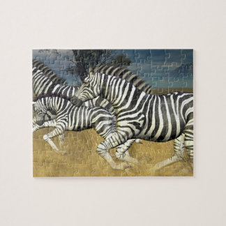 """Racing Stripes"" Zebra Jigsaw Puzzle"