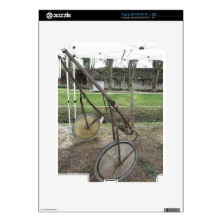 Racing sulky used in harness racing decal for iPad 2