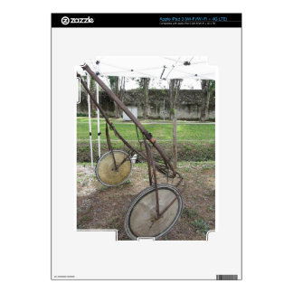 Racing sulky used in harness racing decals for iPad 3