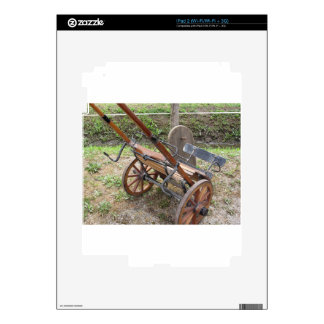 Racing sulky used in harness racing skin for the iPad 2