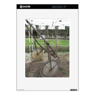 Racing sulky used in harness racing skins for the iPad