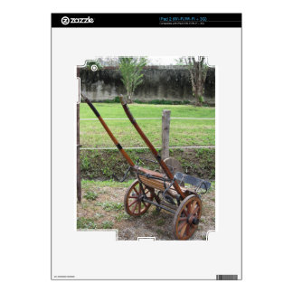 Racing sulky used in harness racing skins for the iPad 2
