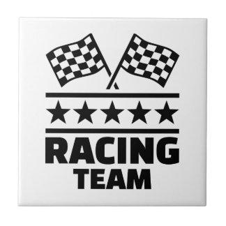 Racing team tile