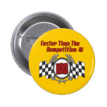 Racing Themed Birthday Gifts Pin