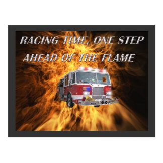 Racing Time Postcard