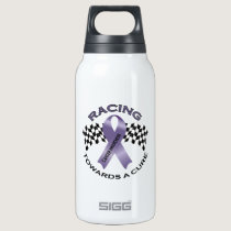 Racing Towards a Cure - All Cancer - Insulated Water Bottle