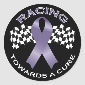 Racing Towards a Cure v2 - All Cancer - sticker 1