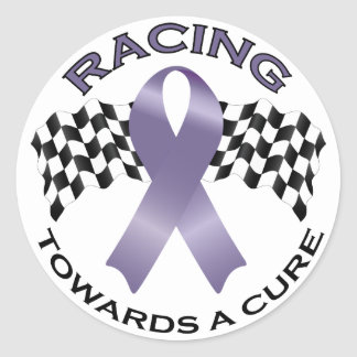 Racing Towards a Cure v2 - All Cancer - sticker 5