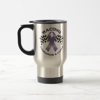 Racing Towards a Cure v2 - All Cancer - Travel Cup