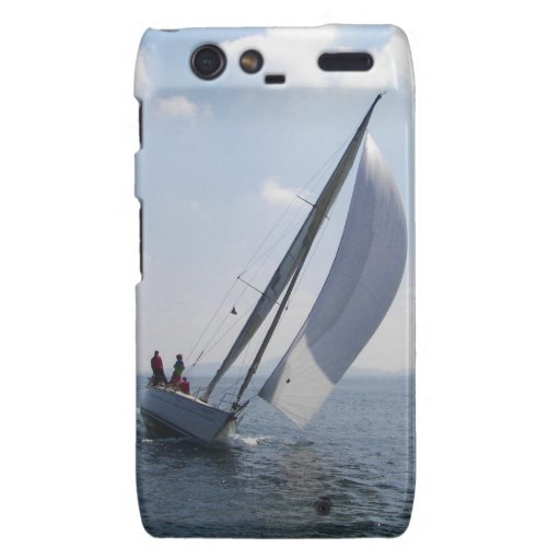 Racing yacht at speed. droid RAZR covers