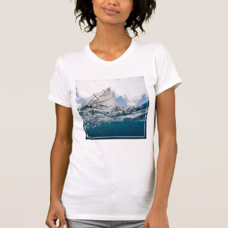 Racing Yacht At The Americas Cup Race Shirt