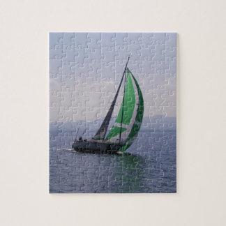 Racing yacht. jigsaw puzzle