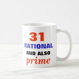 Racional y también prima taza