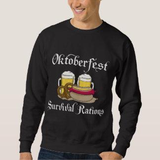 Raciones de la supervivencia de Oktoberfest Sudadera