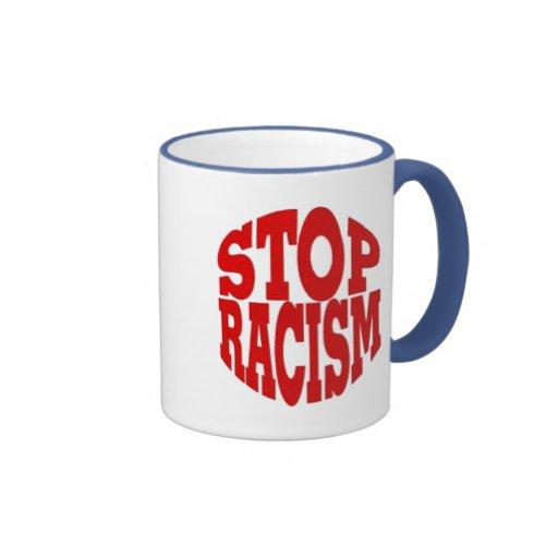 RACISM COFFEE MUG
