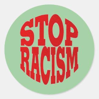 RACISM STICKER