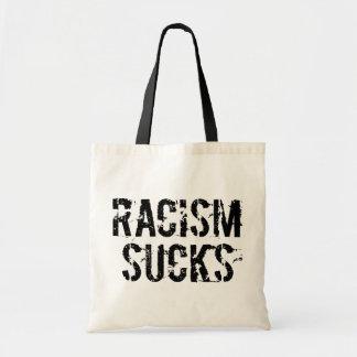 Racism Sucks - Anti Bigot Racist Tote Bag