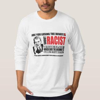 ¡Racista del grito! Remeras