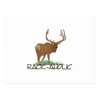 Rack-aholic Postcard