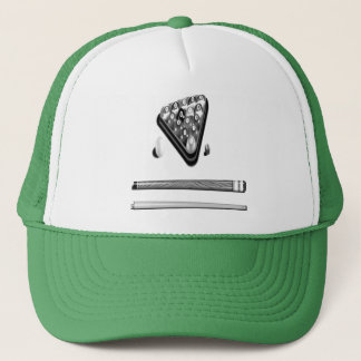 rack and cue's trucker hat