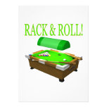 Rack And Roll Personalized Announcements