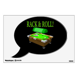 Rack And Roll Wall Decal