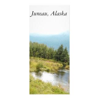 Rack Card features Juneau, Alaska