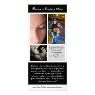 Rack Card Printing, Photography or Wedding