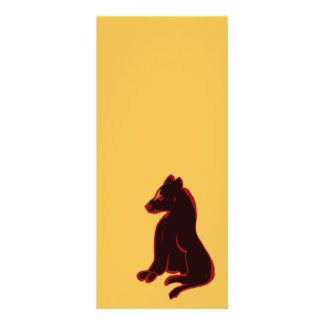 Rack Cards Wild Animal Gold Abstract Modern Art