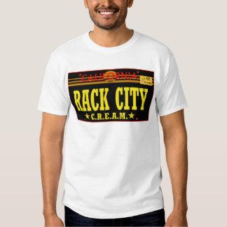Rack City (Cream) -- T-Shirt