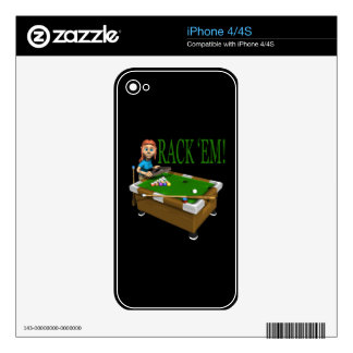 Rack Em 2 Decals For The iPhone 4