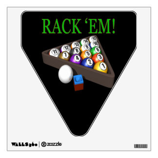 Rack Em 4 Wall Sticker