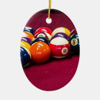 Rack Em Ceramic Ornament