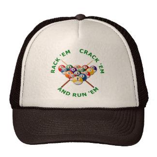 Rack em Crack em and Run em Mesh Hat