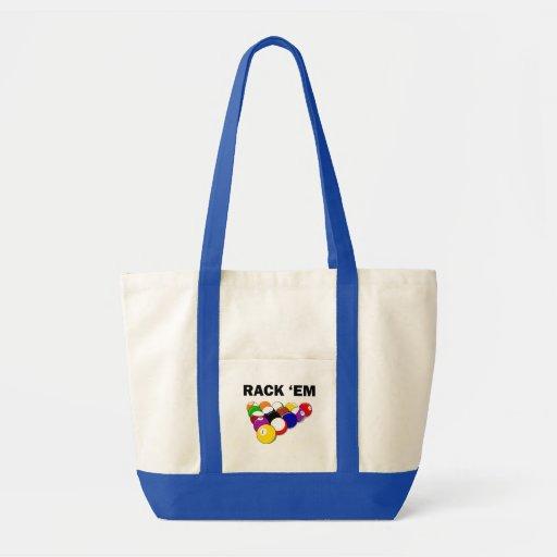 Rack 'Em Eight Ball Tote Bag