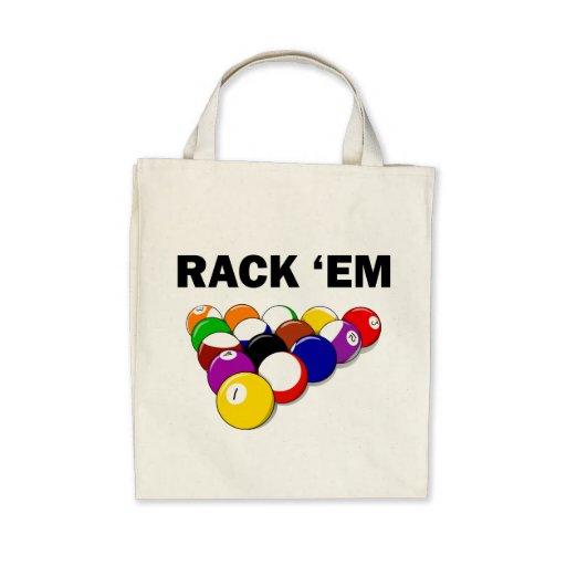 Rack 'Em Eight Ball Bags