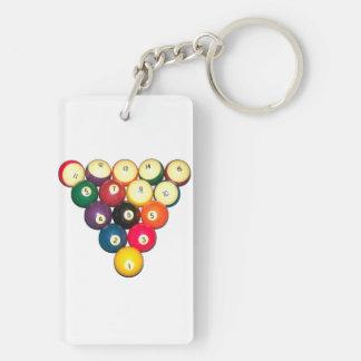 Rack 'Em! Keychains